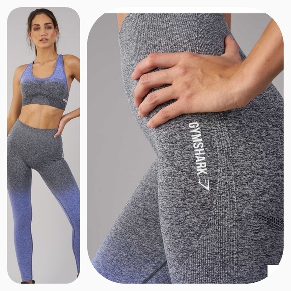 fc1cfcfe1f55f0 Gymshark Pants | Sale Ombre Seamless Indigoblack | Poshmark